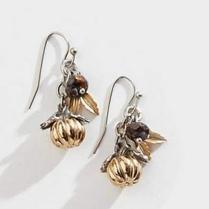 J. Jill Gorgeous Autumn Day Cluster Earrings NWT